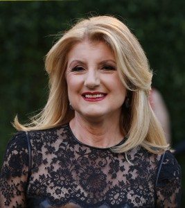 Arianna Huffington at the 2013 Vanity Fair Oscars Party in West Hollywood