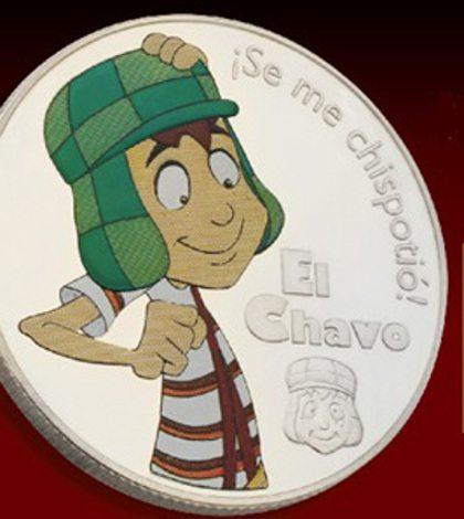 Lanzan monedas conmemorativas del Chavo del Ocho
