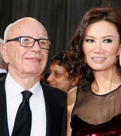 Rupert Murdoch se divorcia en la antesala de la división de News Corp