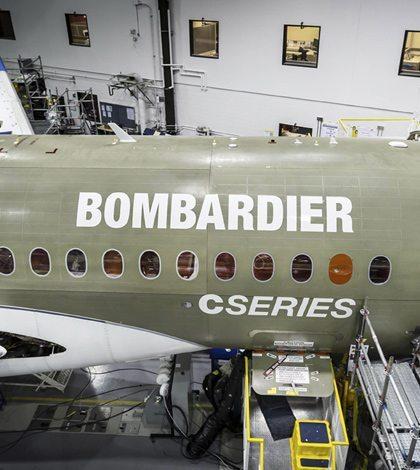 EU mantendrá altos aranceles para los aviones de Bombardier