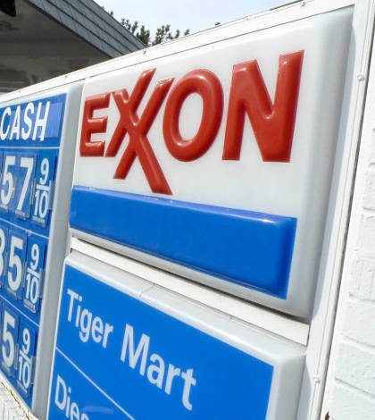 Accionistas de Exxon aprueban reporte de impacto climático