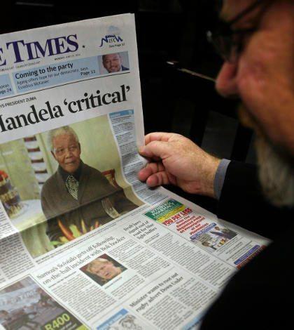 Salud de Mandela mejora en su 'día'