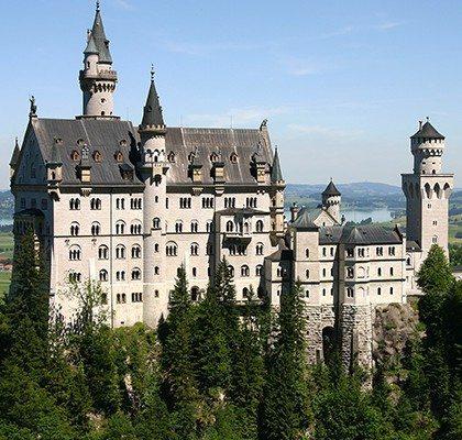 Castillo Neuschwanstein. Foto: Wikipedia.