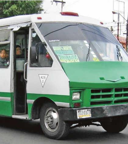 Microbús y Combi, los transportes más utilizados en el Valle de México