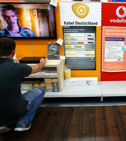 Vodafone concreta compra de Kabel