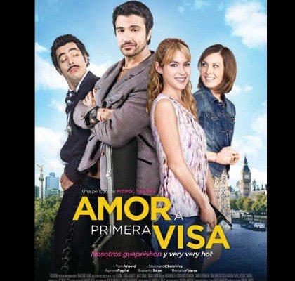 Cartel de la película 'Amor a primera vista'.