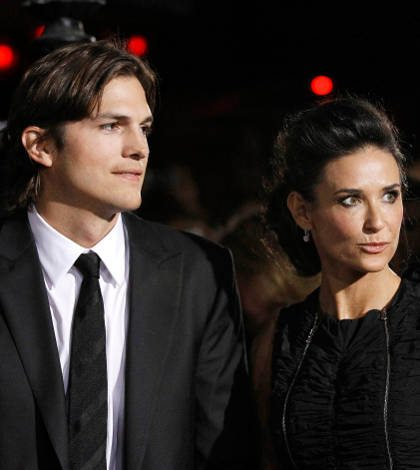 Ashton Kutcher y Demi Moore oficializan su divorcio
