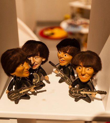 Los Beatles en el museo de Arqueología de Montreal