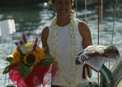 Galia Moss, navegando un sueño
