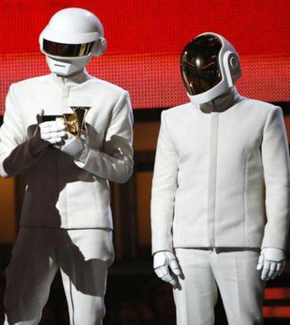 Daft Punk gana el Grammy por mejor disco del año