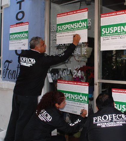 Profeco suspende actividades de 103 funerarias en México