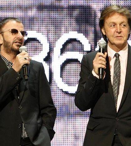 Paul McCartney y Ringo Starr actuarán en la entrega de los Grammy
