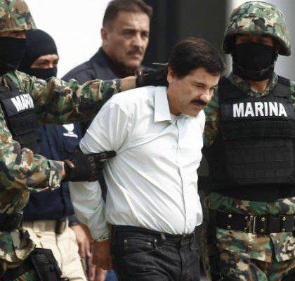 La detención de 'El Chapo' Guzmán. (Reuters)