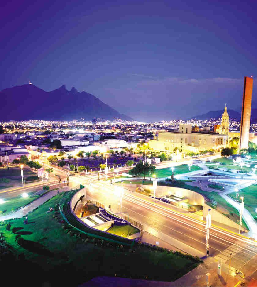 Monterrey es de las ciudades más importantes del norte de México.