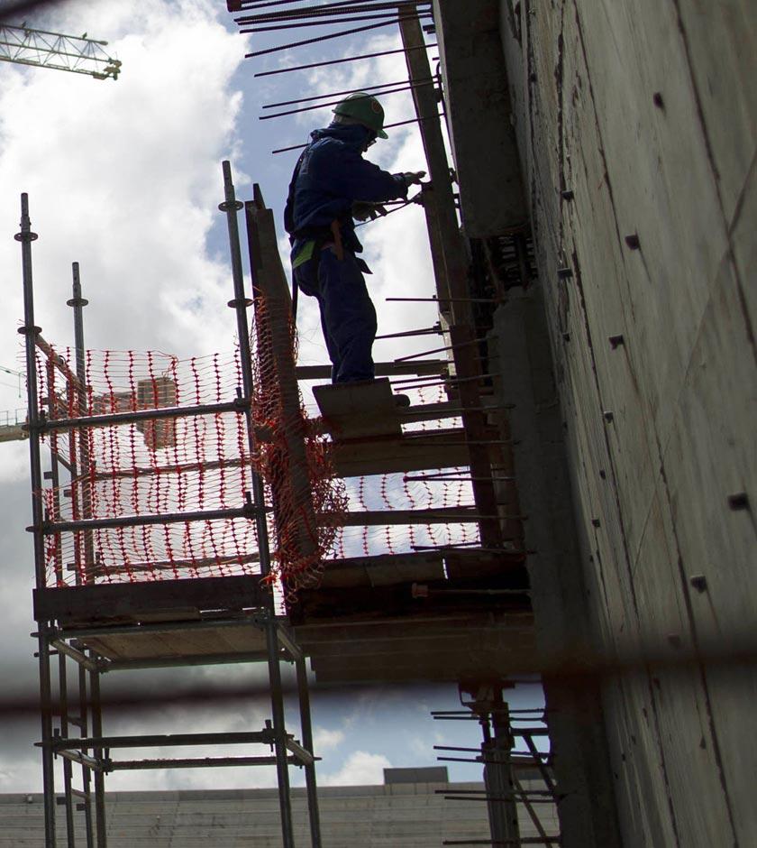 La inversión privada de construcción en Panamá cae 50% en 2018