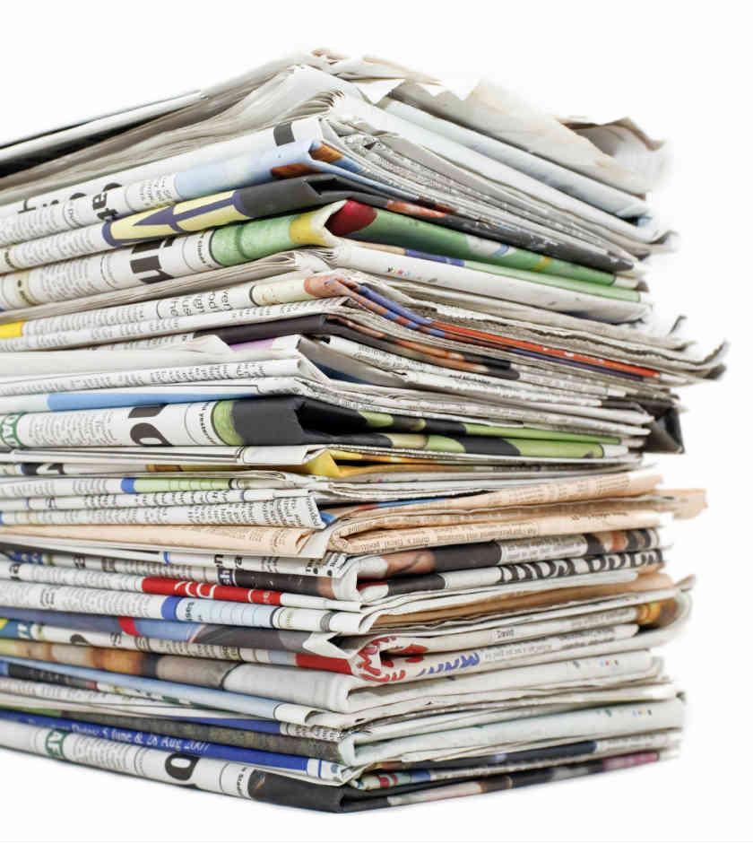 Quemen los periódicos de izquierda
