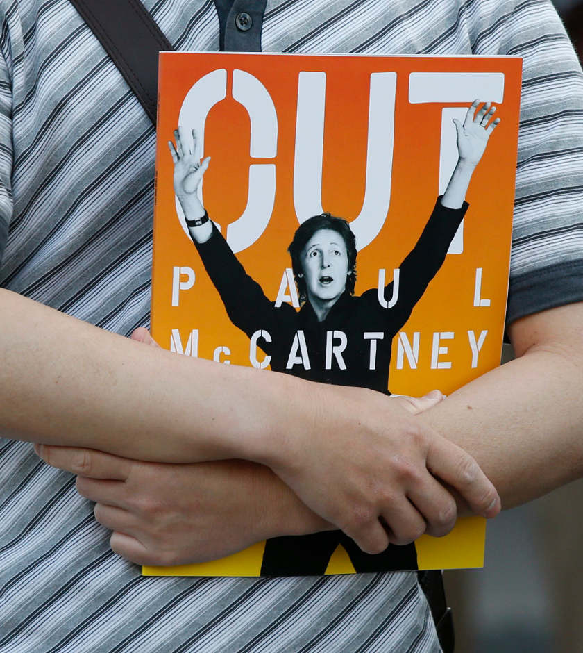 Paul McCartney cancela gira en Japón por enfermedad
