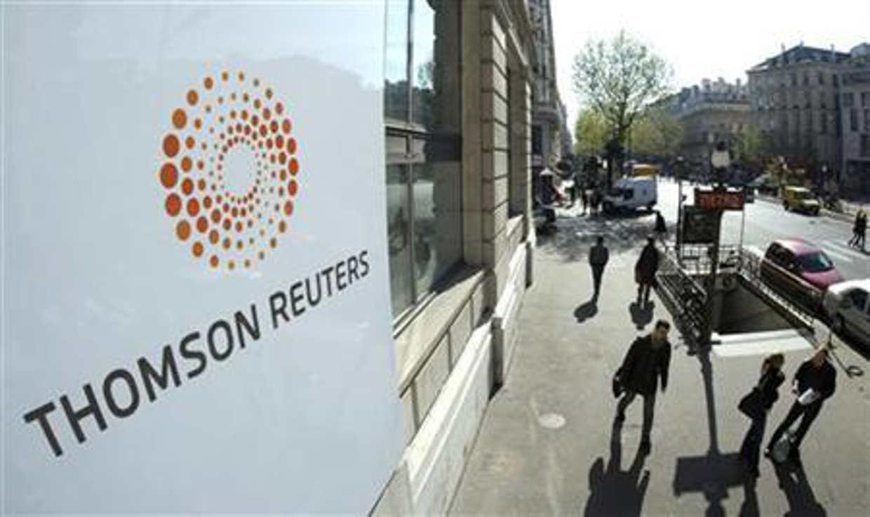Reuters reporta alza en ventas trimestrales