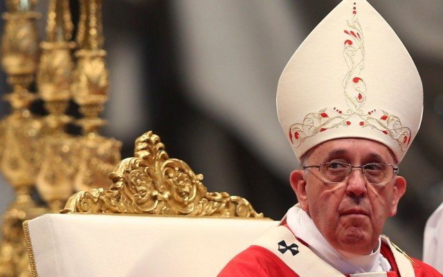 El Papa Francisco durante una ceremonia en el Vaticano (Foto: Reuters)