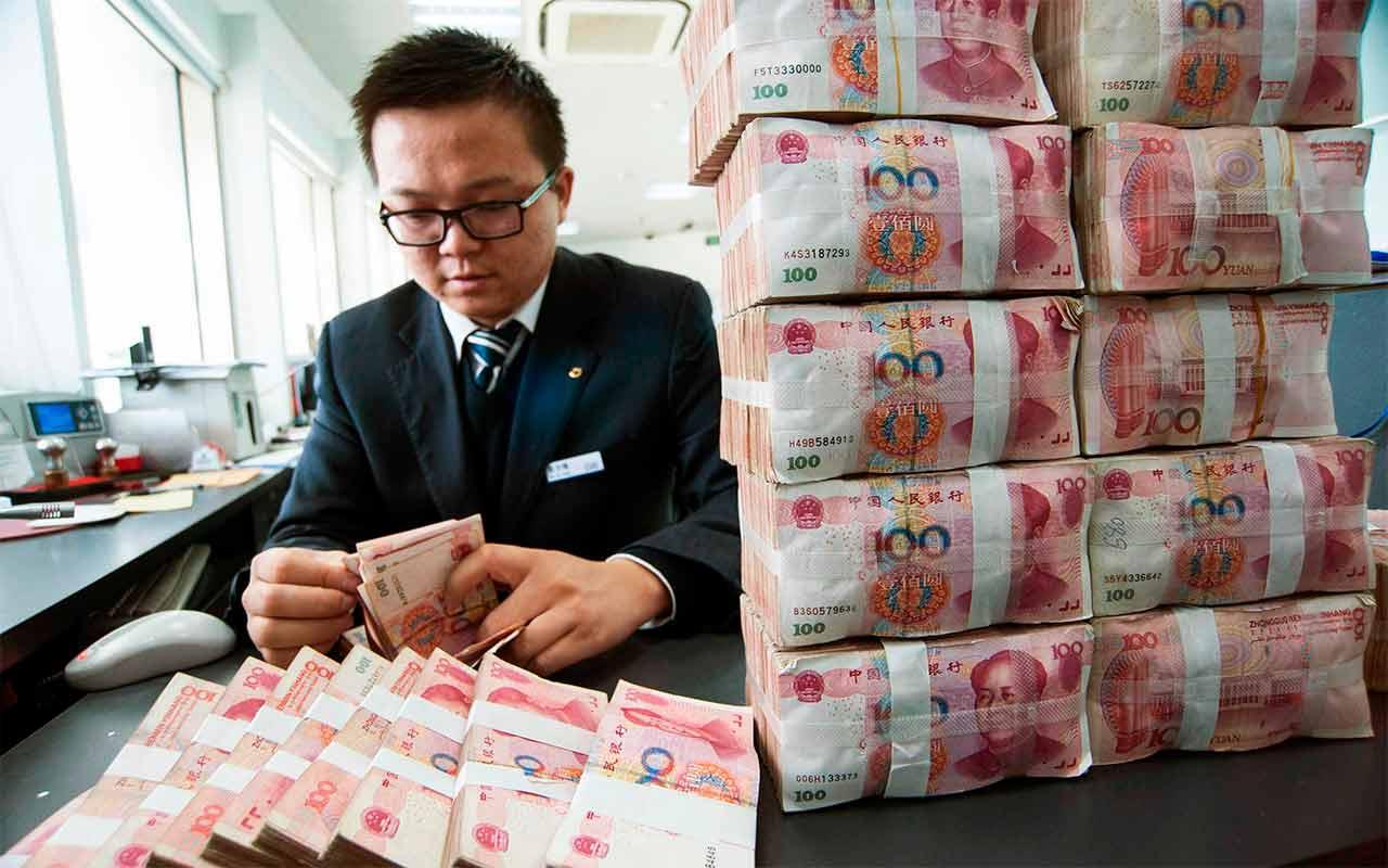 """Se confirma """"contraataque"""" chino: sus reservas se desploman"""