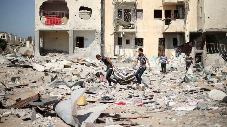 Israel y militantes de Gaza acuerdan alto al fuego