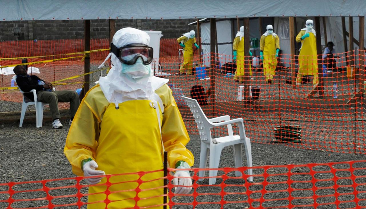 Londres recibe a paciente británico contagiado de ébola