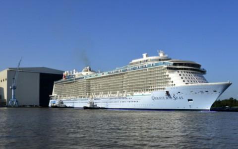 Zarpa por primera vez el crucero más grande del mundo