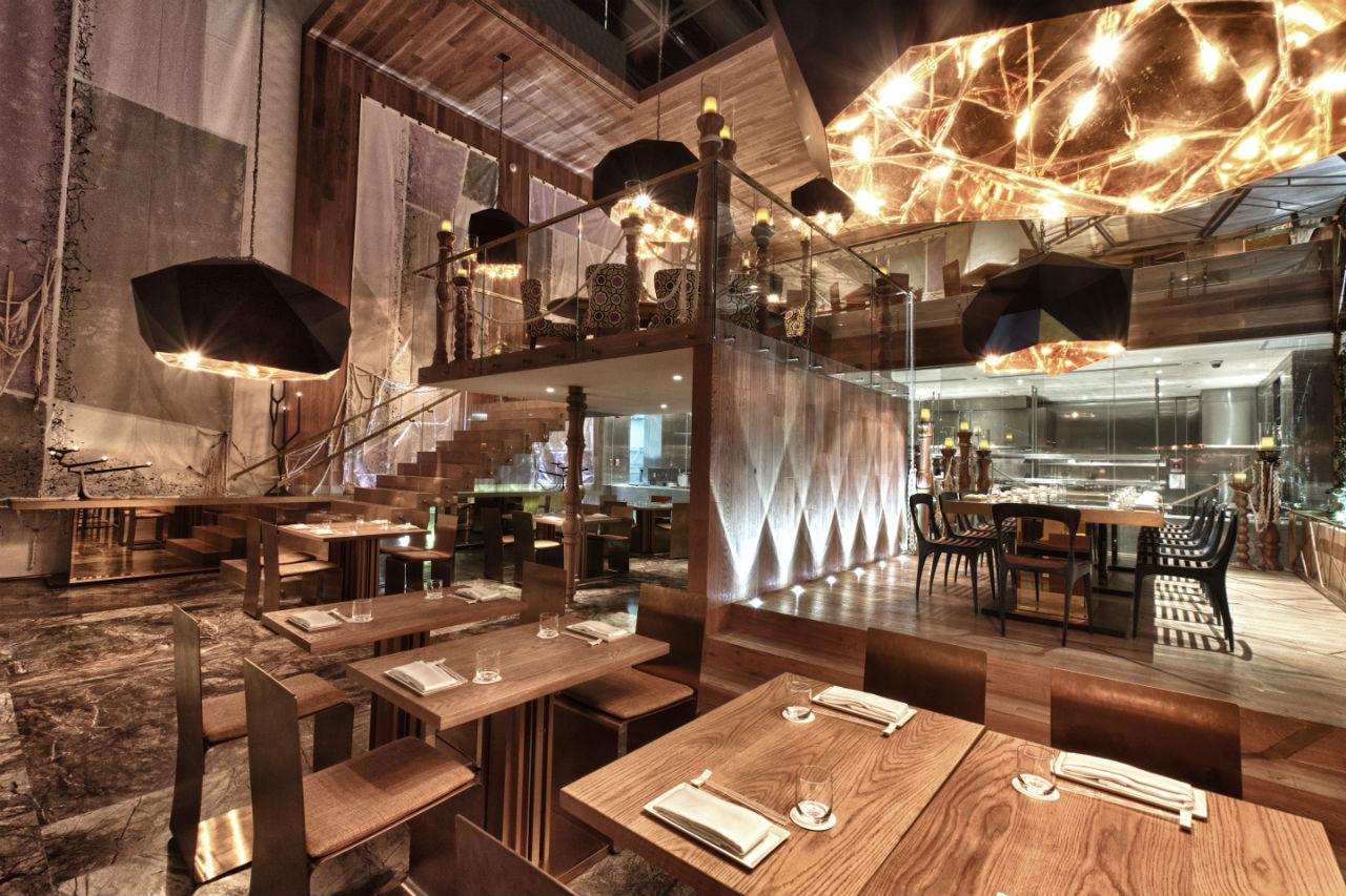 Morimoto alta cocina japonesa en un buque de dise o for Areas de un restaurante