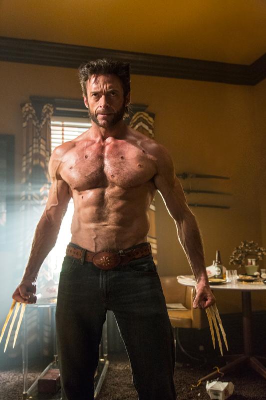 Hugh Jackman y su inseparable Wolverine