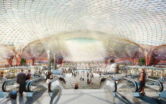 Así lucirá el nuevo aeropuerto (Foto: Presidencia)