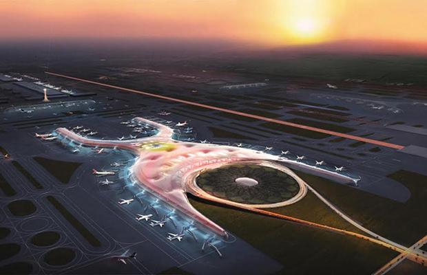 La ciudad que puede nacer con el Nuevo Aeropuerto