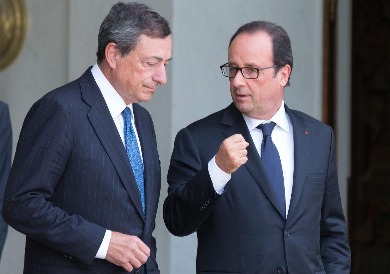 Compra de bonos reforzará recuperación económica: Draghi