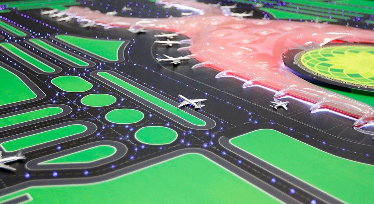 Ica Fluor construirá plantas centrales de servicios del nuevo aeropuerto