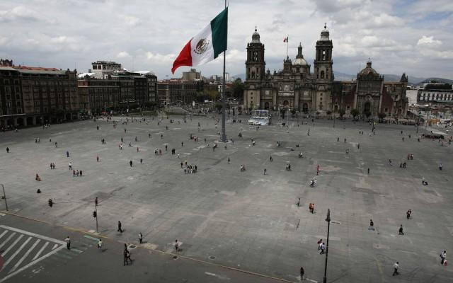 Zócalo de la Ciudad de México (Foto: Reuters)