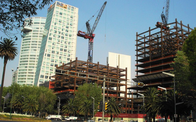 Construcción en la Ciudad de México (Foto: es.wikipedia.org)