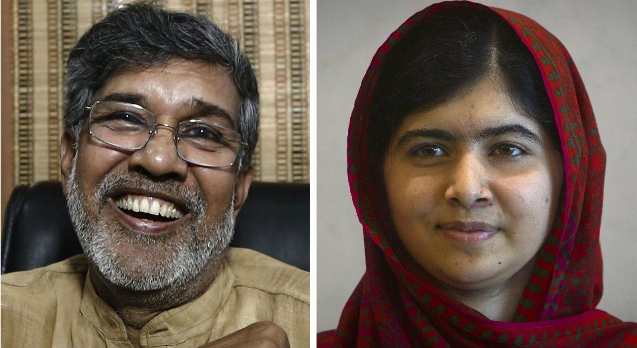 Nobel de la Paz, para Malala Yousafzai y Kailash Satyarthi