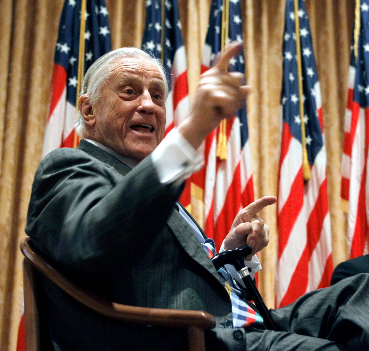 Muere Ben Bradlee, el legendario editor del Washington Post