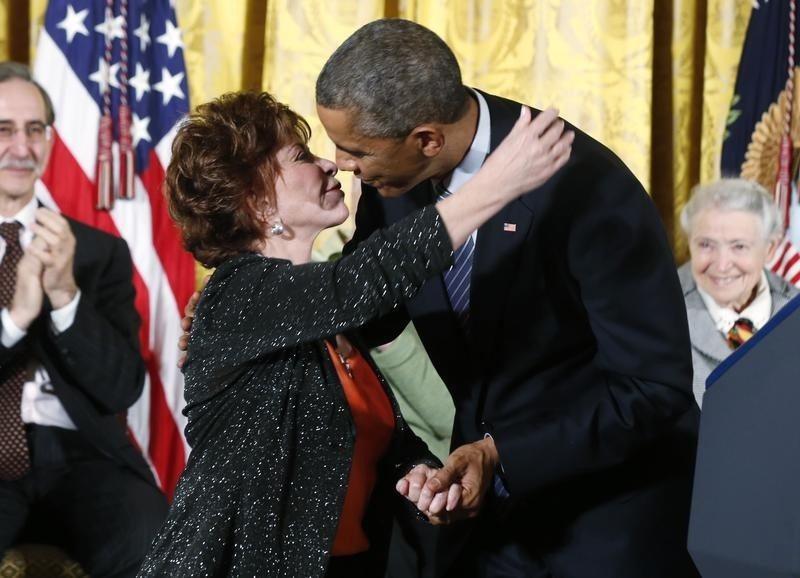 Obama entrega Medalla de la Libertad a Meryl Streep