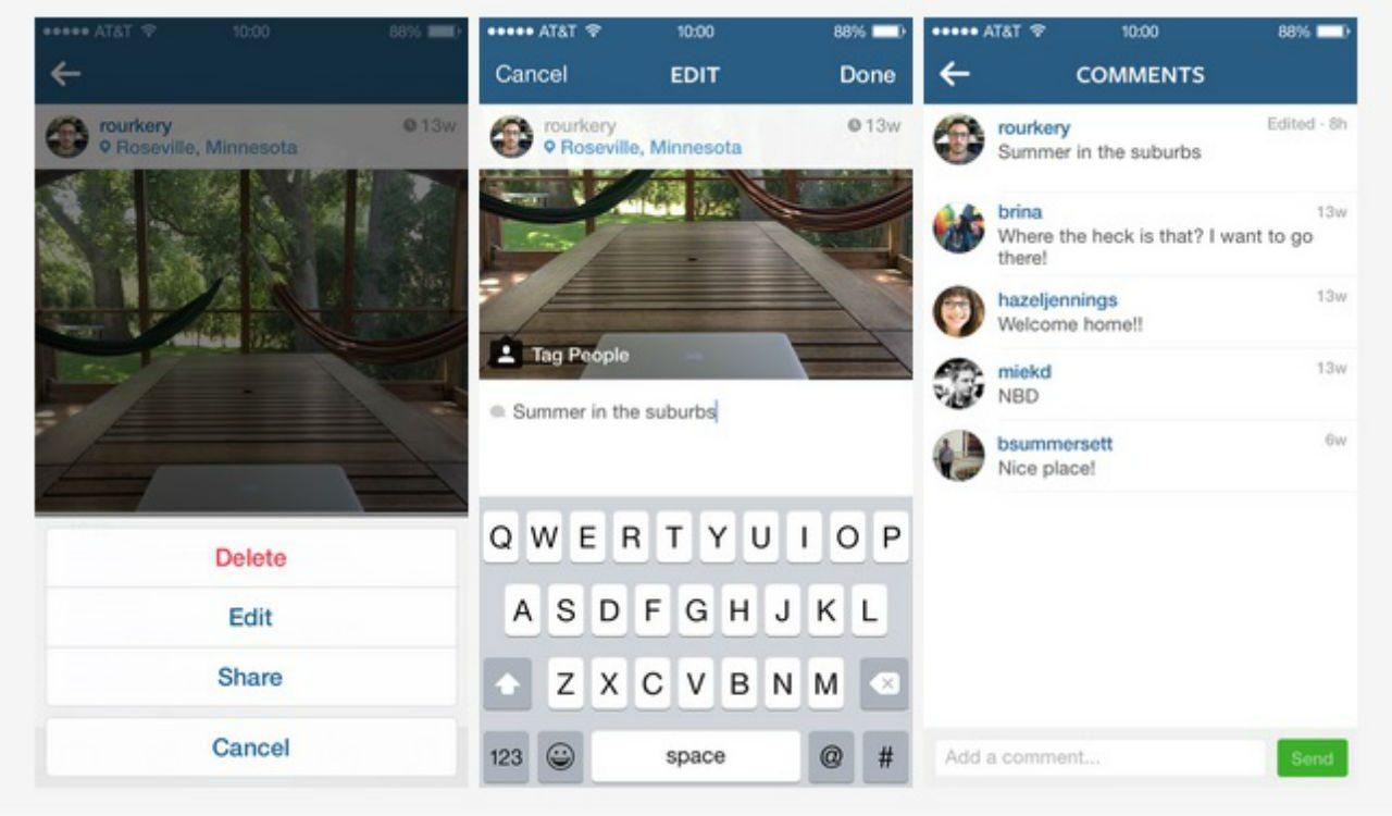 Instagram añade servicio de mensajes directos