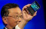 El presidente ejecutivo de Blackberry, John Chen, en épocas más prósperas. (Foto: Reuters)