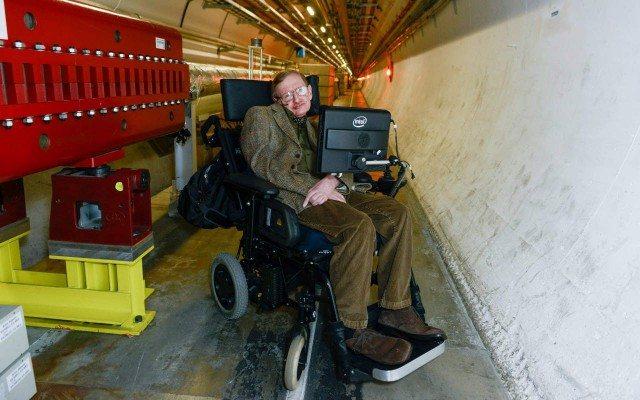 Stephen Hawking (Foto: CERN)