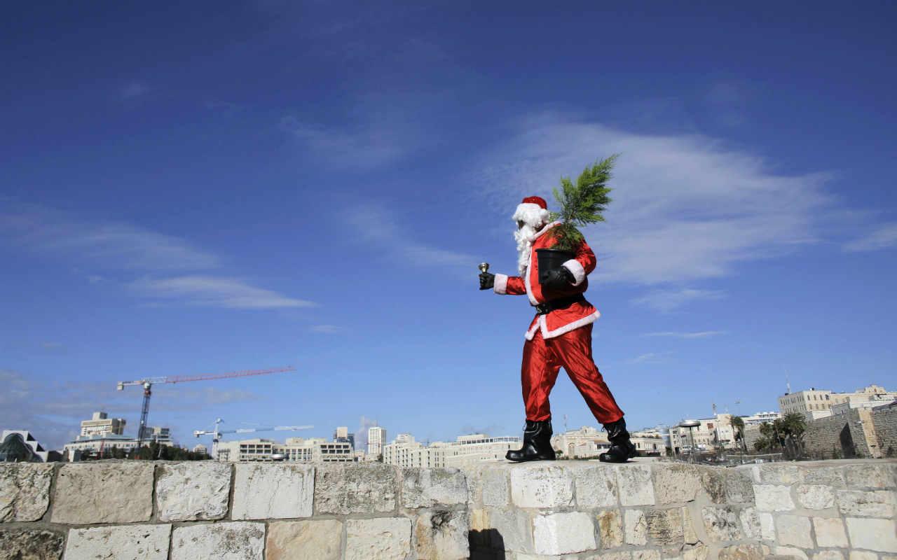 Alcohol y accidentes: las peripecias de Santa Claus