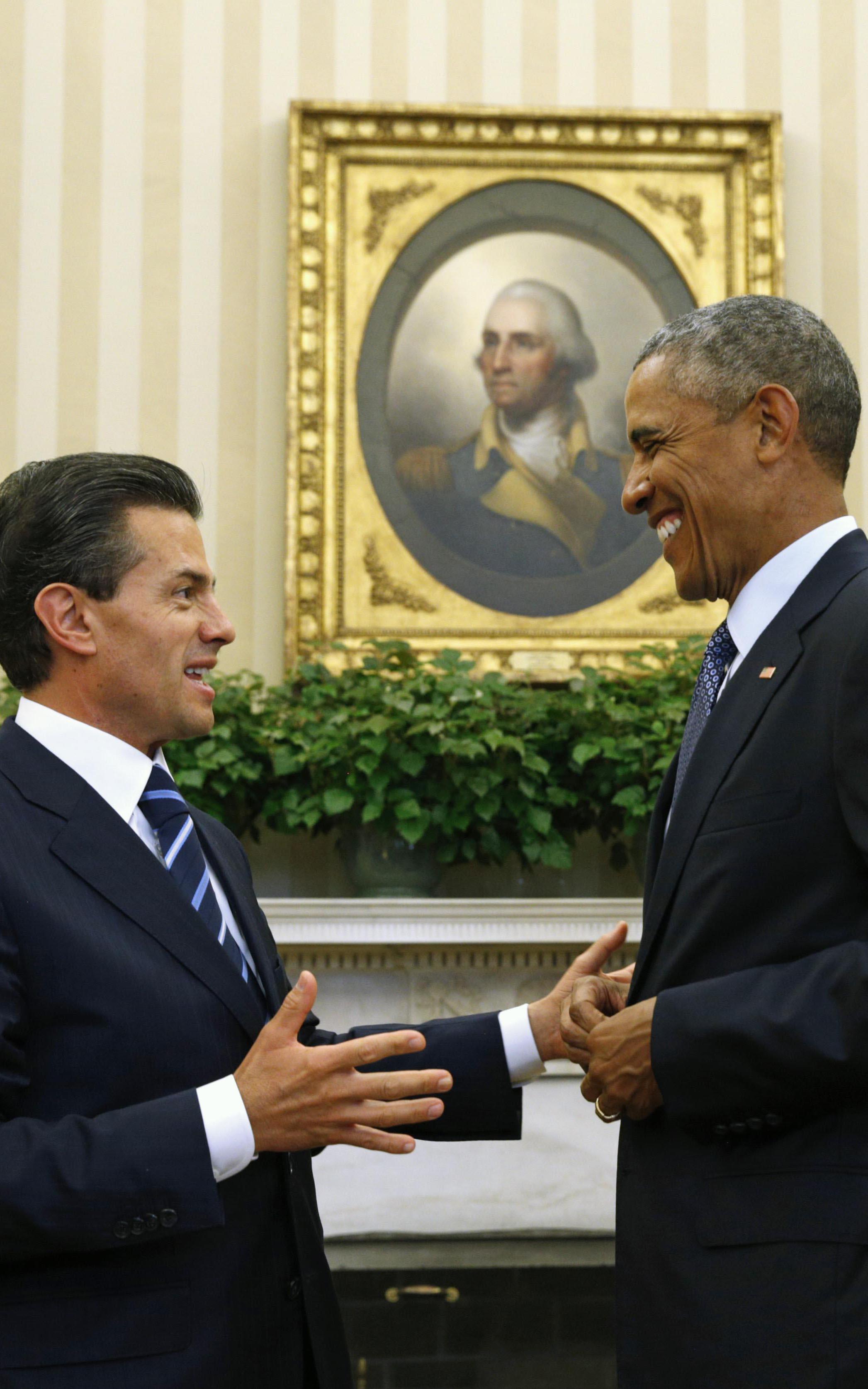 Peña Nieto y Obama discuten combate a la heroína