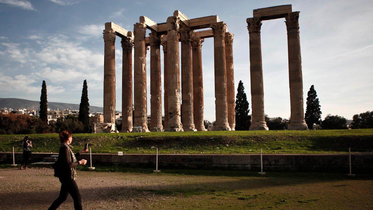 Grecia protegerá sus sitios arqueológicos del cambio climático