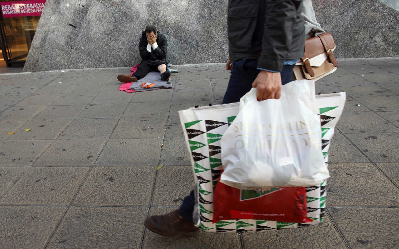 Los ricos en México ganan 21 veces más que los pobres