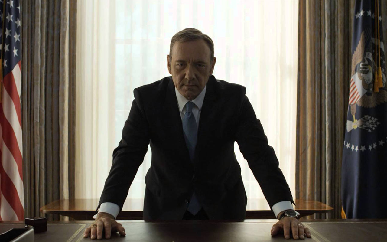 Netflix frena rodaje de 'House of Cards' por Kevin Spacey