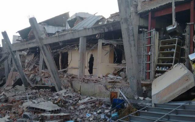 Explosión en hospital de Cuajimalpa deja al menos dos muertos