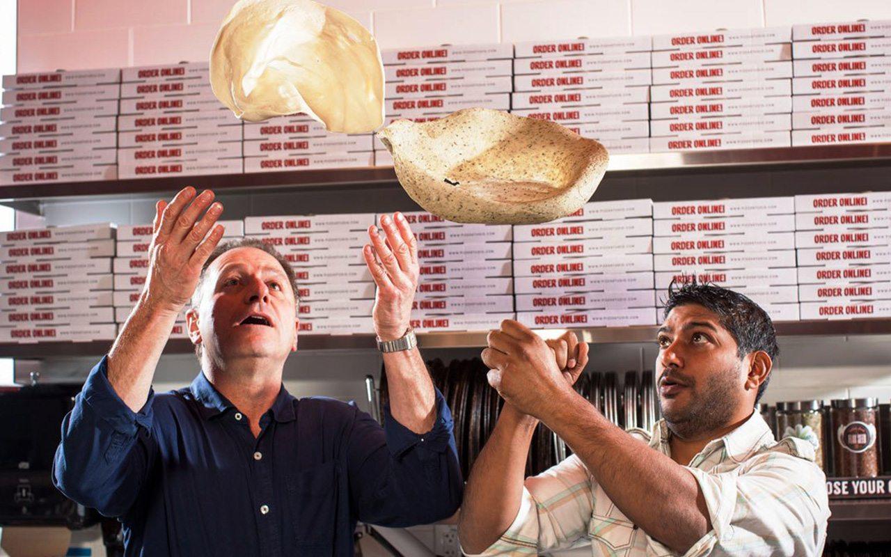 Los emprendedores que reinventaron la pizza