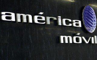 Logo de las oficinas de América Móvil (Foto: Reuters)