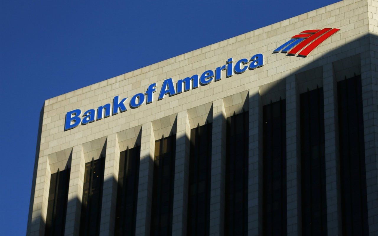 Ingresos de Bank of America en primer trimestre no son los que se esperaban